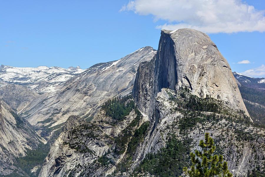 Half Dome At Glacier Point, Yosemite Photograph