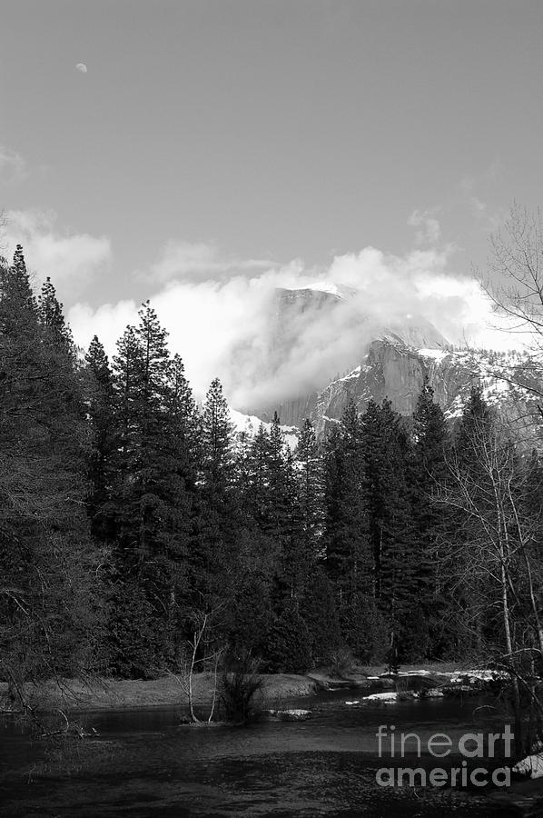 Landscape Photograph - Half Dome From Sentinal Bridge by Richard Verkuyl
