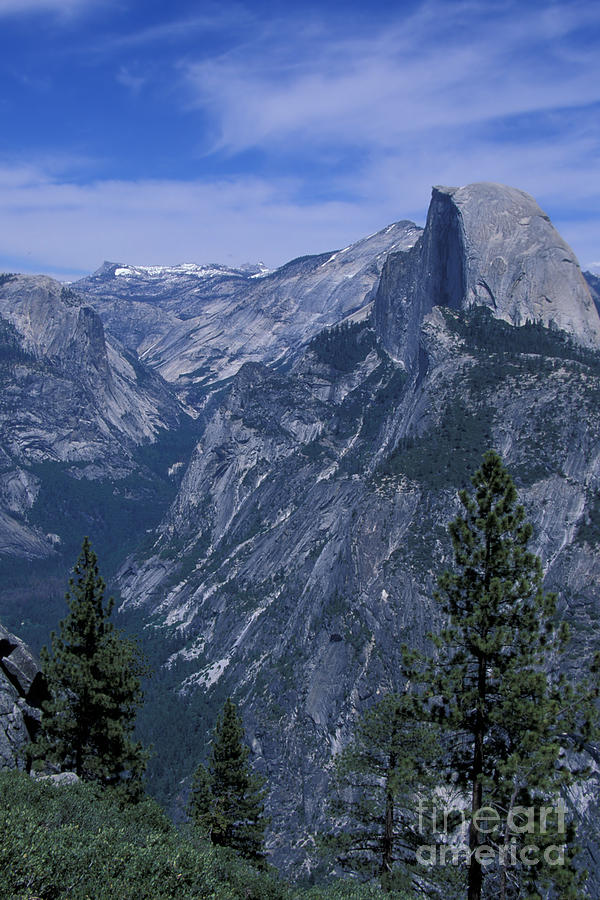 California Photograph - Half Dome From Washburn Point by Stan and Anne Foster