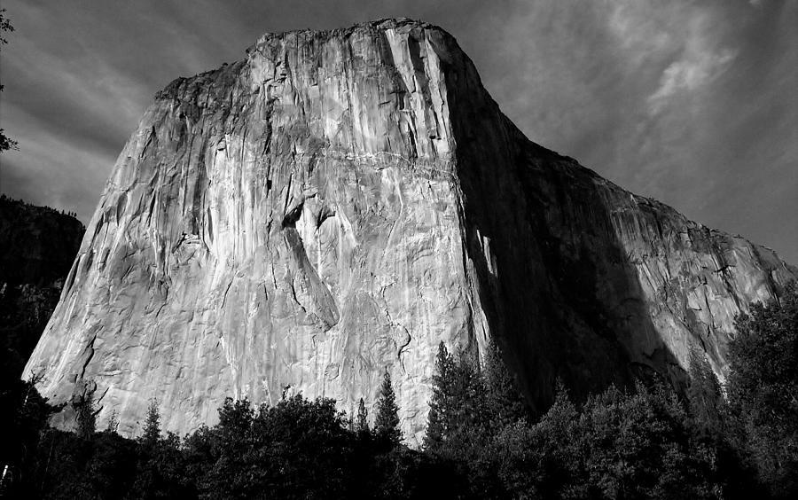 Landscape Photograph - El Capitan - Yosemite, Ca by Larry Day