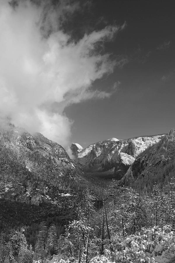 Half Dome Photograph - Half Dome Winter by Travis Day