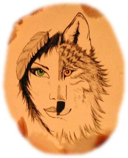 Half Ladyhalf Wolf
