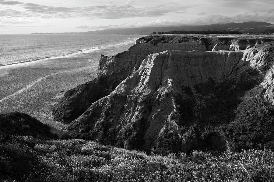 Half Moon Bay II BW by David Gordon