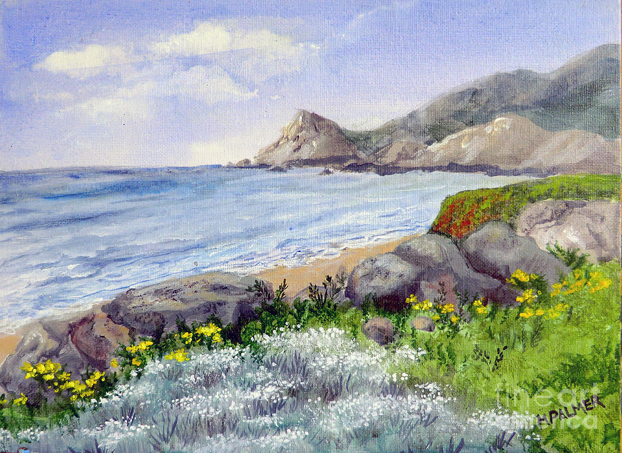 Half Moon Bay by Mary Palmer