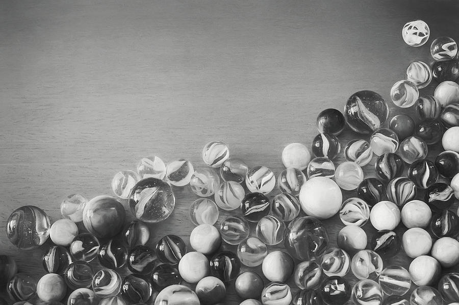 Half My Marbles Photograph