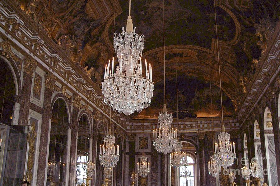 Hall Of Mirrors At The Palace Of Versailles Photograph By Debbie Fenelon