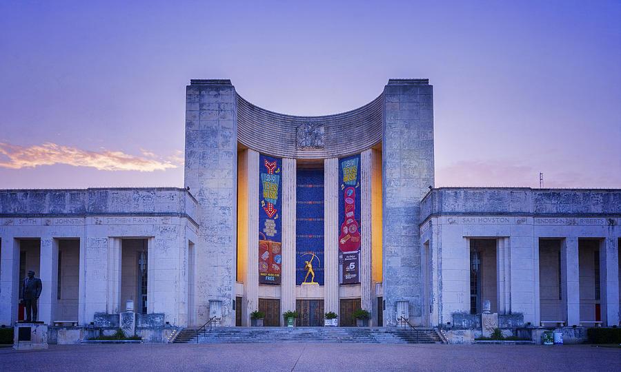 Joan Carroll Photograph - Hall Of State Texas by Joan Carroll