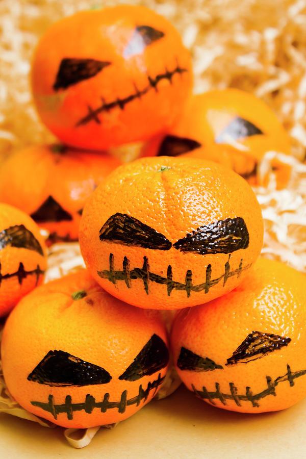 Scary Photograph - Halloween Craft Treats by Jorgo Photography - Wall Art Gallery