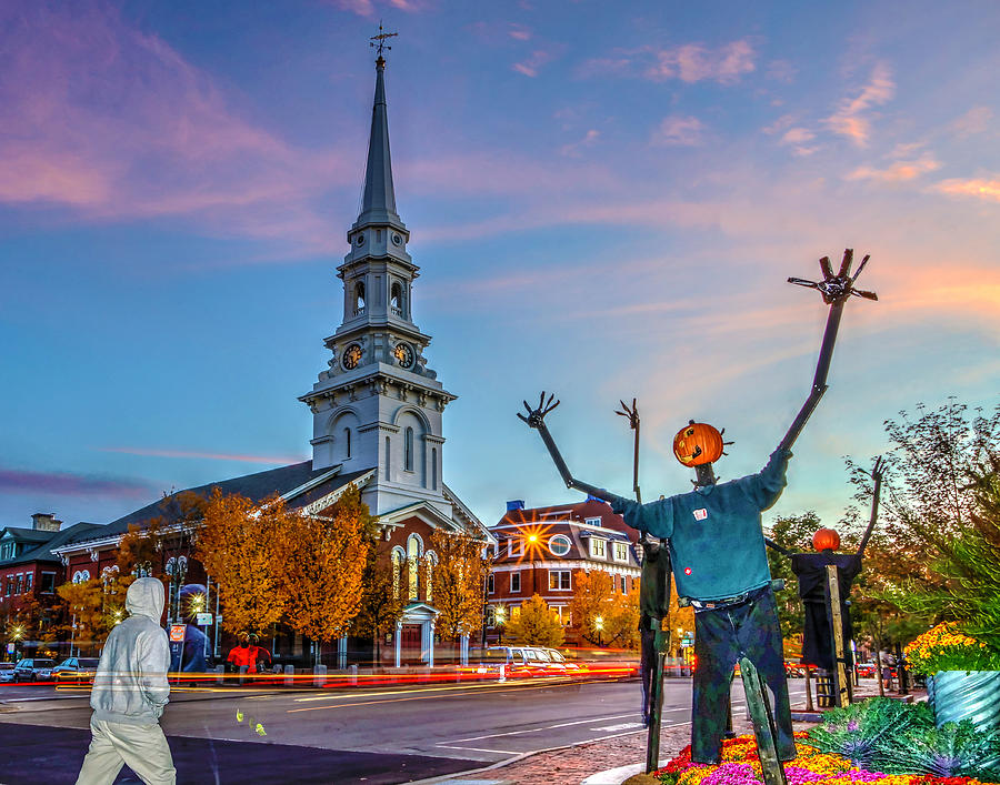 Halloween In Portsmouth 746 Photograph