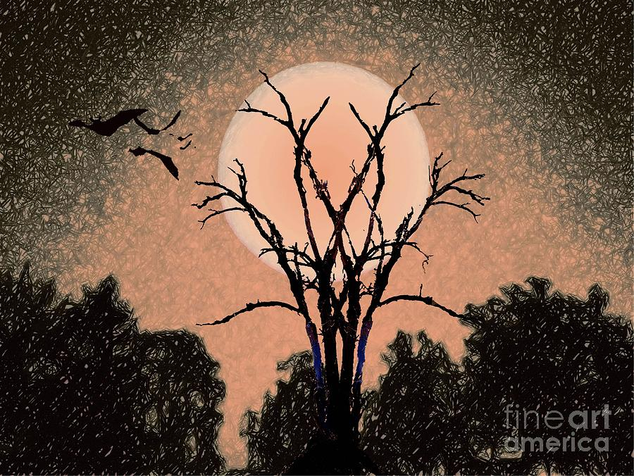 Halloween Night by Desiree Paquette