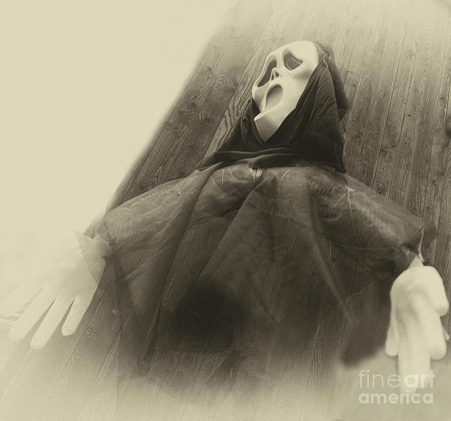 Halloween No 2 - The Scream Photograph