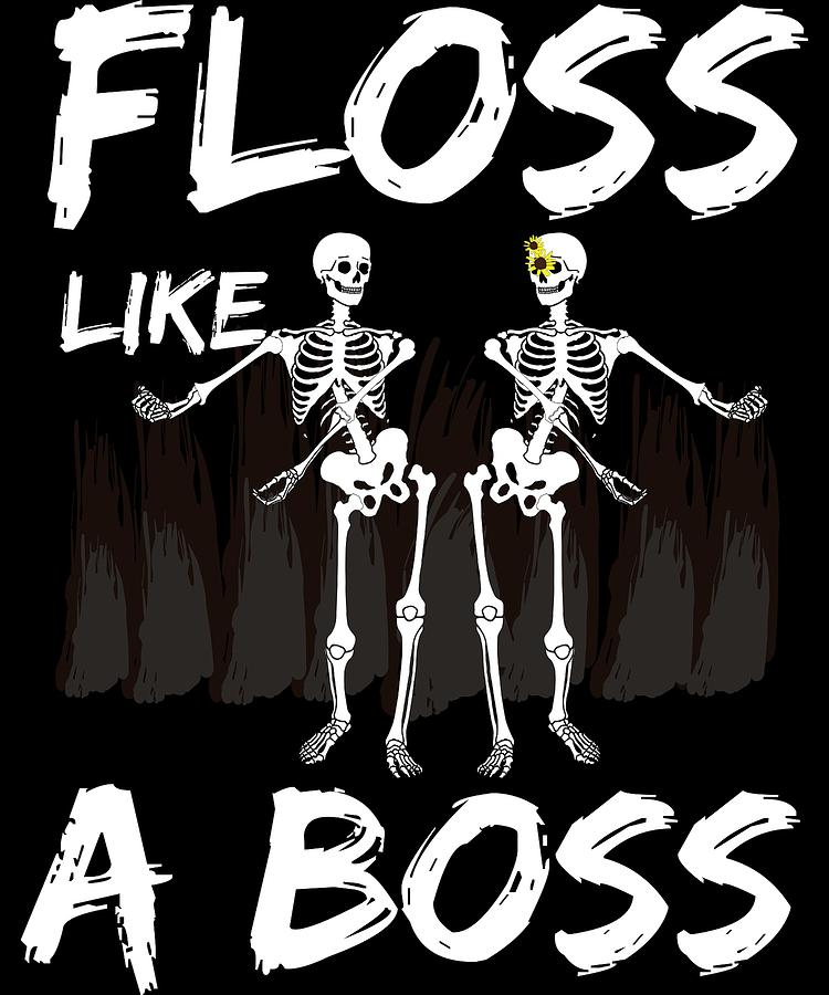 Halloween Skeleton.Halloween Skeleton Floss Like A Boss Youth Dance