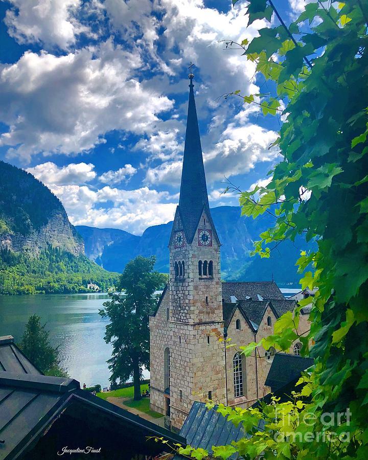 Hallstatt Church by Jacqueline Faust
