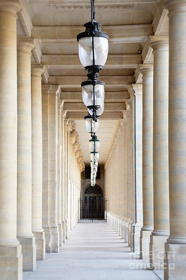 Hallway at Palais Royal by Ivy Ho