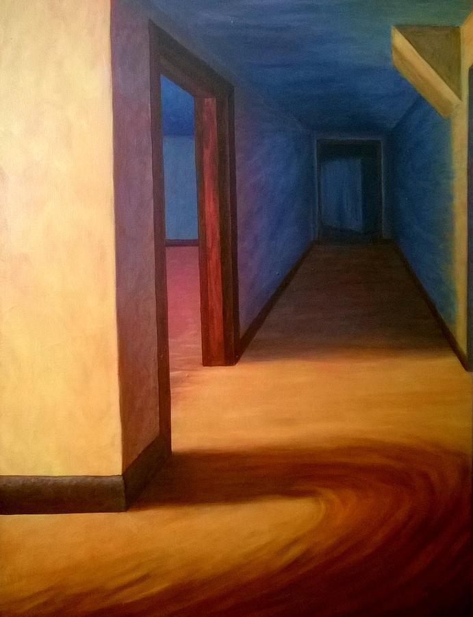 Painting A Hallway hallway paintingjoann renner