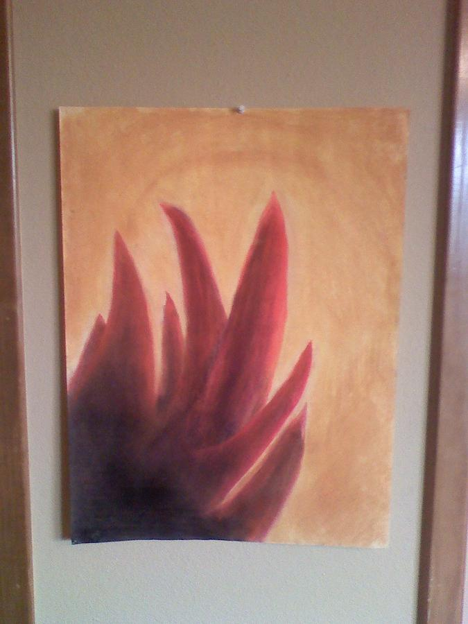 Pastels Pastel - Halo Of Fire by Amber Reaves