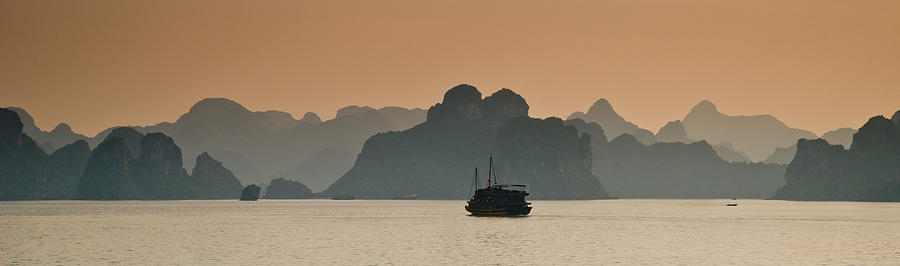 Landscape Photograph - Halong Bay by Peter Verdnik