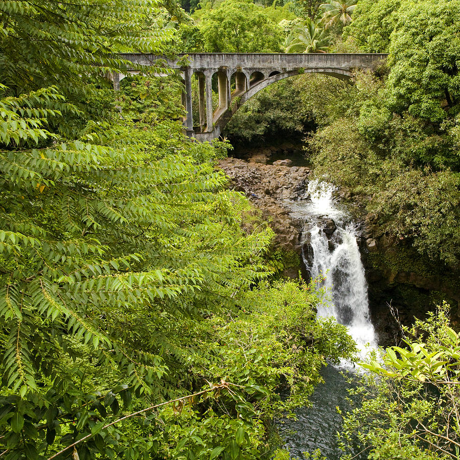 Landscape Photograph - Hamakua Bridge by Charlie Osborn