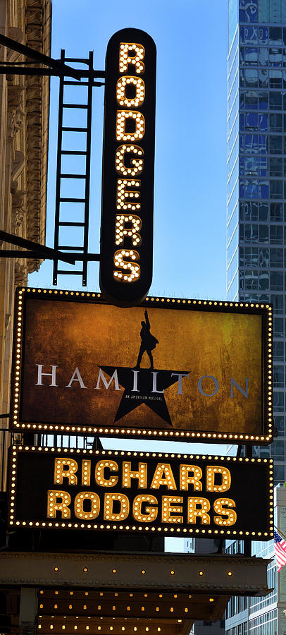 Hamilton Play At Richard Rodgers Theatre Photograph by ...