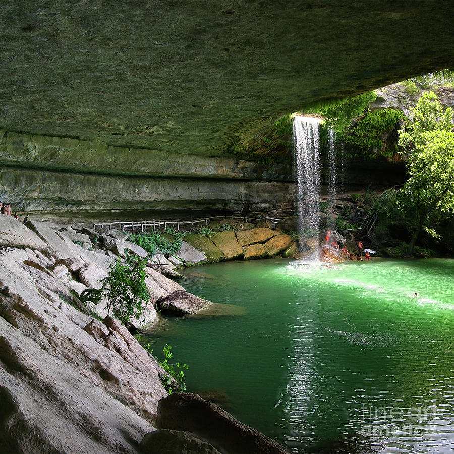 Hamilton Pool Cave Pt1 Photograph By Randy Smith