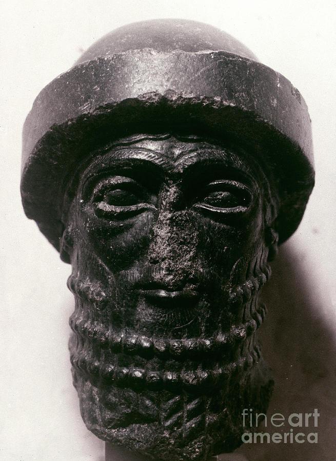 1750 B.c. Photograph - Hammurabi (d. 1750 B.c.) by Granger
