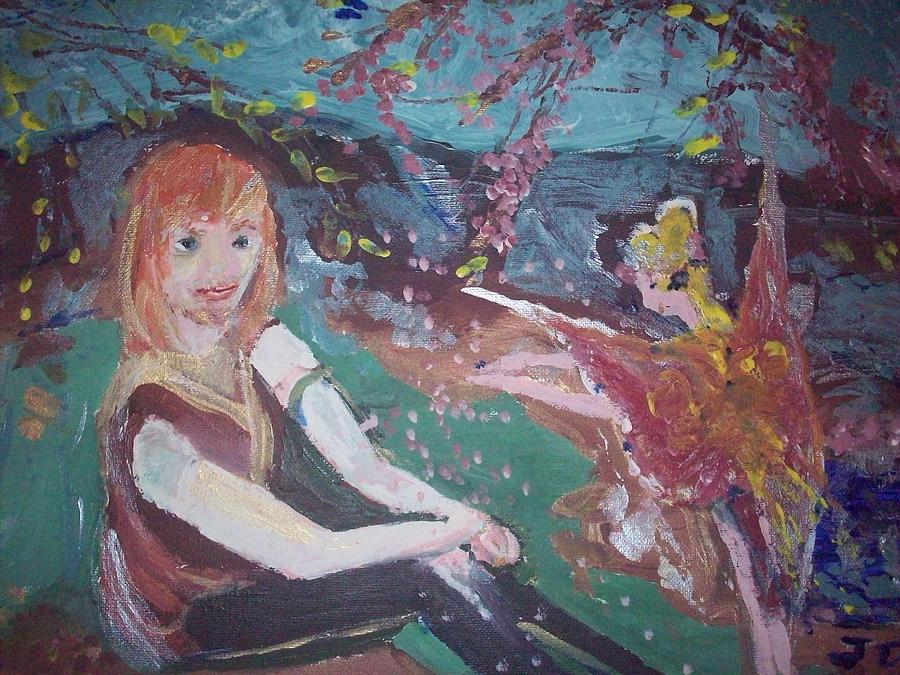 Hammy Painting - Hammy Havoc by Judith Desrosiers