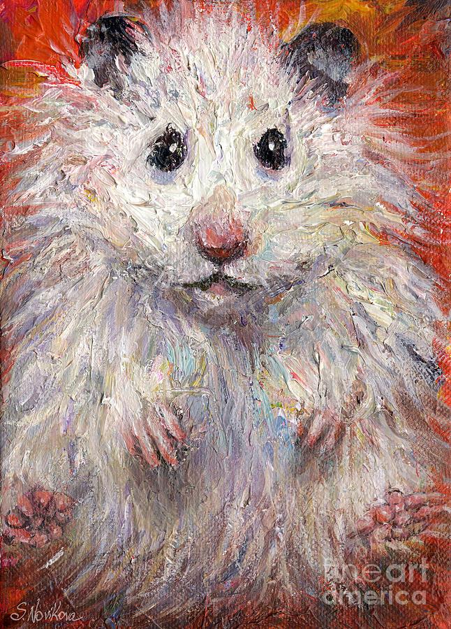 Hamster Painting - Hamster Painting  by Svetlana Novikova