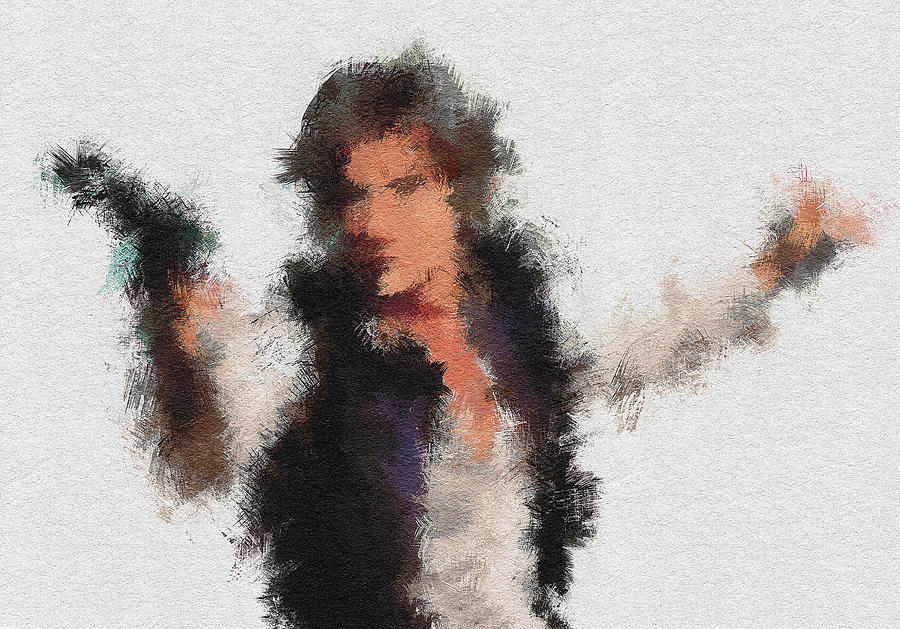 Han Painting - Han Solo by Miranda Sether