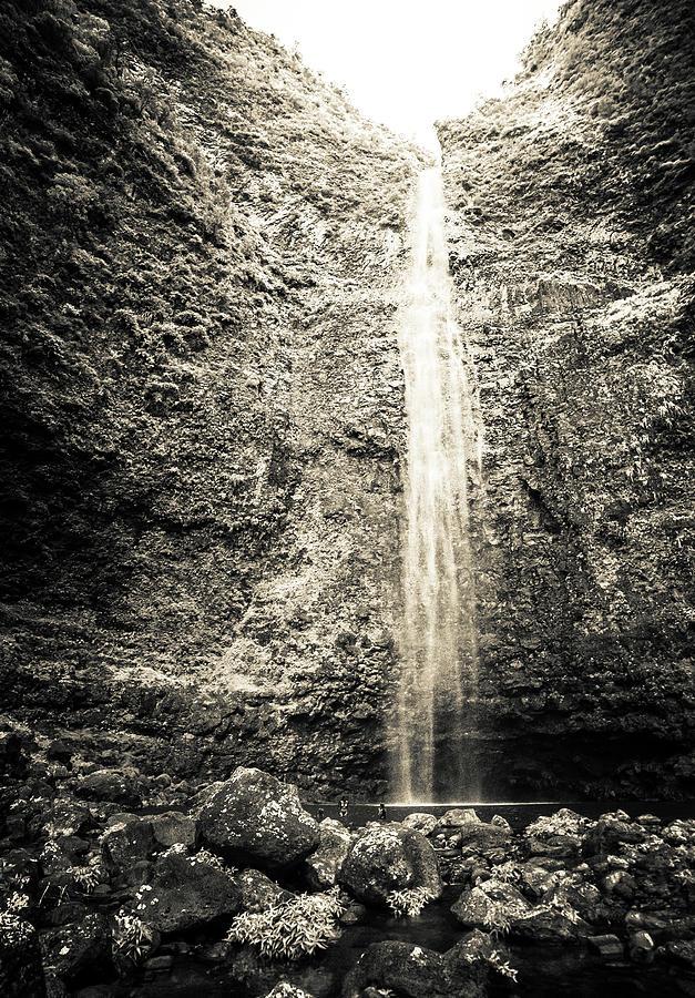 Hanakapiai Falls, Kauai, HI by T Brian Jones