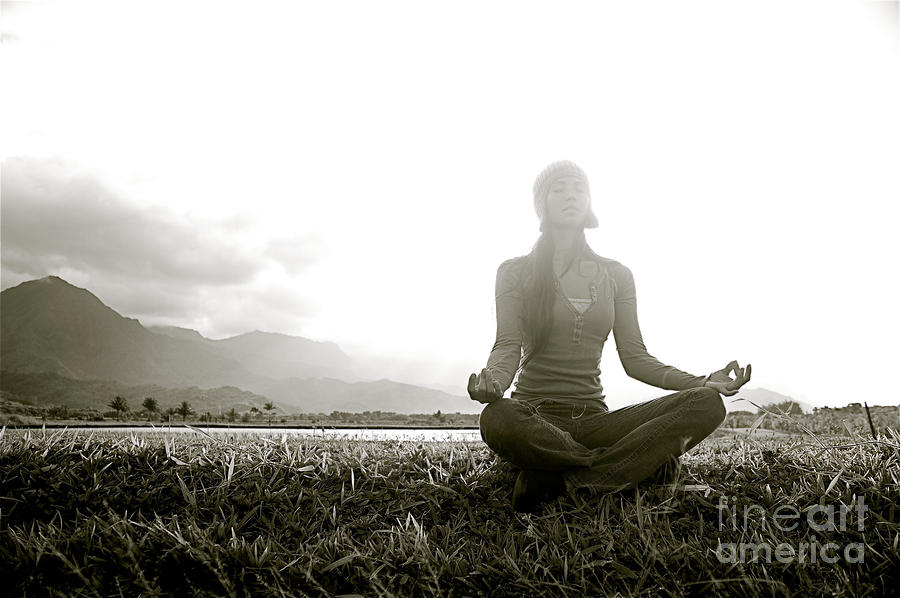 Active Photograph - Hanalei Meditation by Kicka Witte - Printscapes