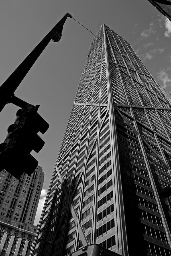 Chicago Photograph - Hancock - Chicago - by Miranda  Miranda