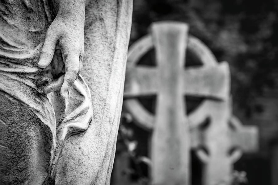 Hand and Cross by Sonny Marcyan