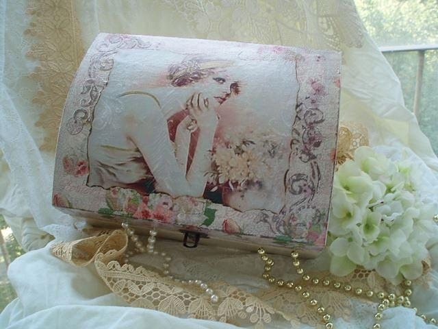 Decoupage Tapestry - Textile - Hand Made By Zlata by Zlata Radosevic