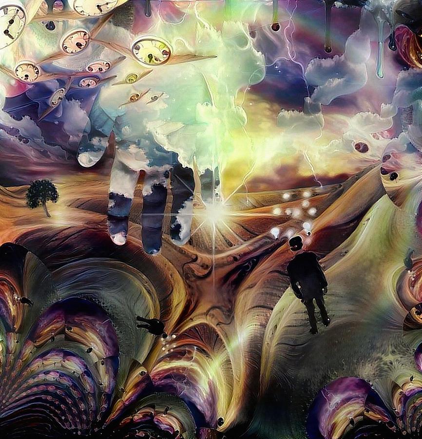 Hand Of God Digital Art
