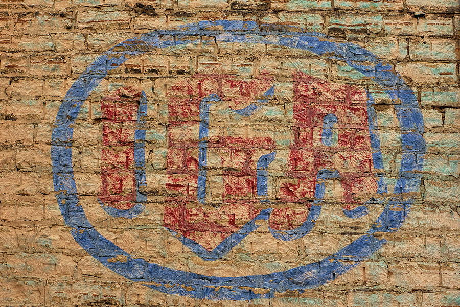 Hand Painted IGA Sign by Alan Hutchins