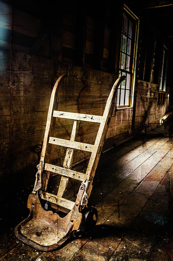 Mill Photograph - Hand Truck by Jim Love