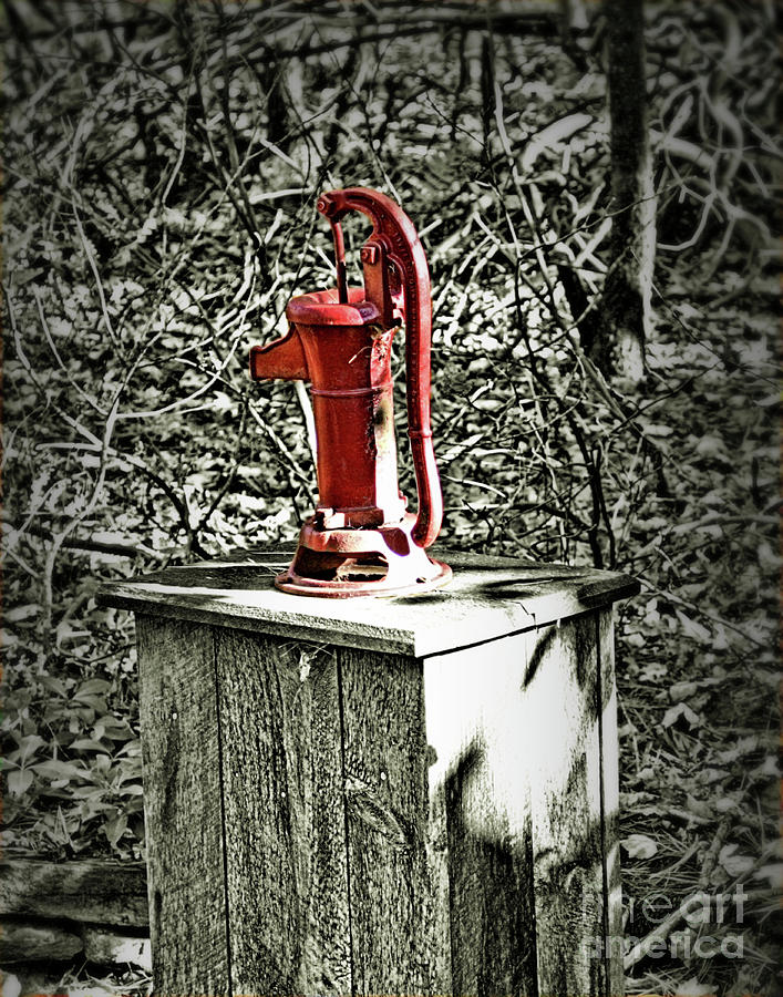 Hand Water Well Pump by Smilin Eyes  Treasures