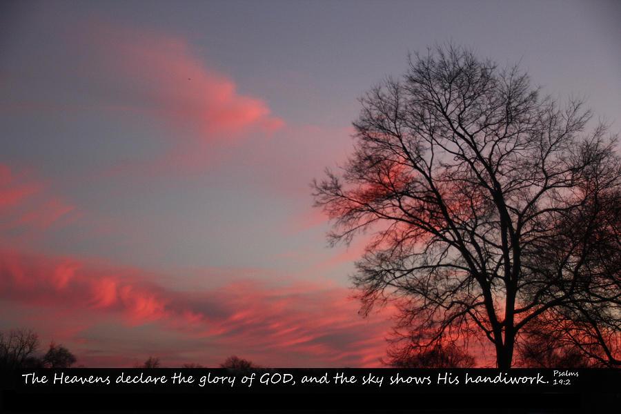 God Photograph - Handiwork Of God by EricaMaxine Price