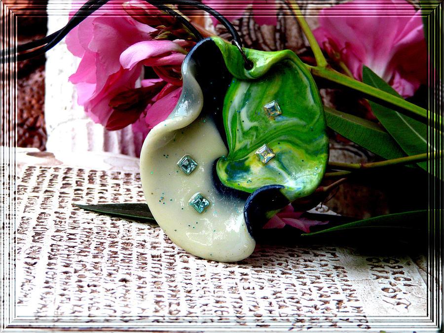 Jewel Photograph - Handmade Art In Nature by Chara Giakoumaki