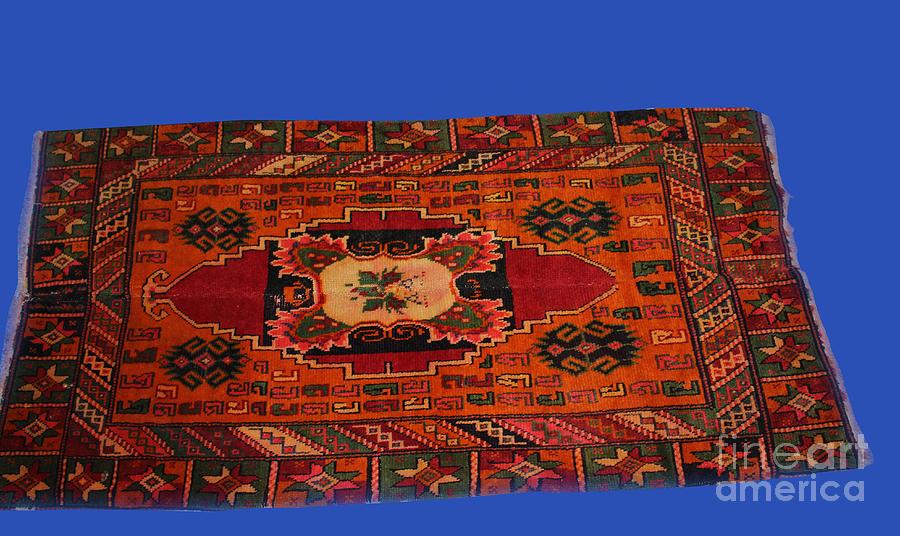 Handmade Rugs Mixed Media by 0 Womens handicraft in Kukes
