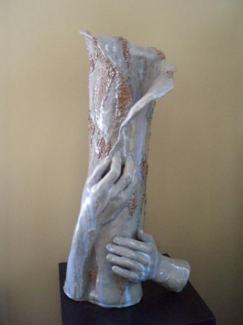 Human Hands Sculpture - Hands Of The Sculptor by Mari