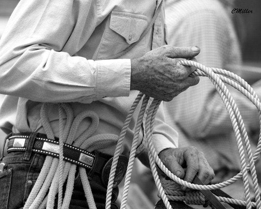 Rodeo Photograph - Hands Of Time.. by Carol Miller