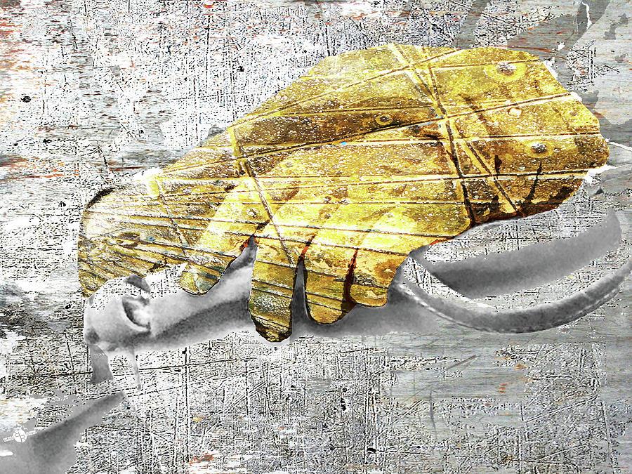 Hand Mixed Media - Hands Study by Tony Rubino