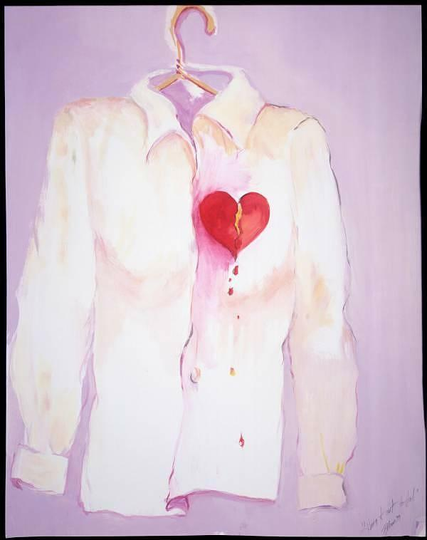 Hang It Up..to Drip Dry Painting by Barbara Moore