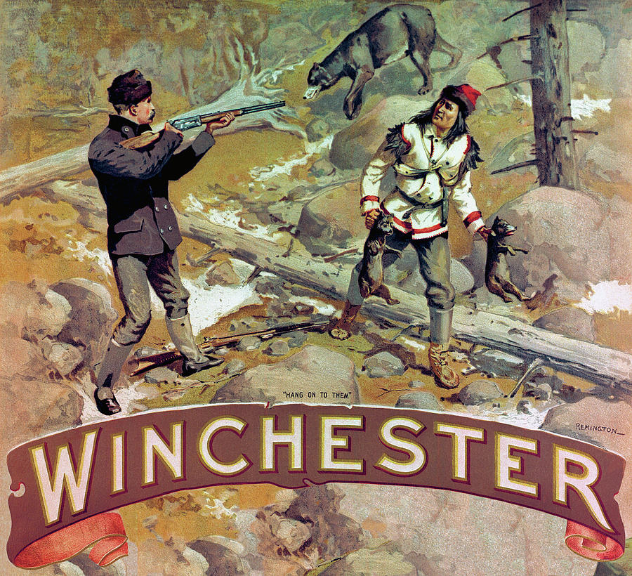 Рекламные постеры про охоту