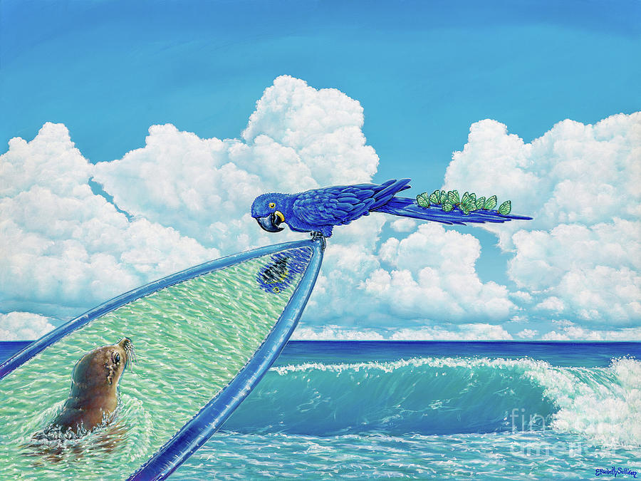 Hang Ten by Elisabeth Sullivan