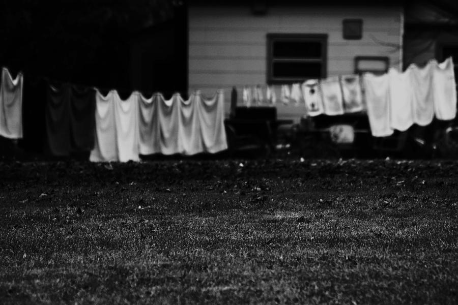 Clothes Photograph - Hanging Around by Dana Flaherty