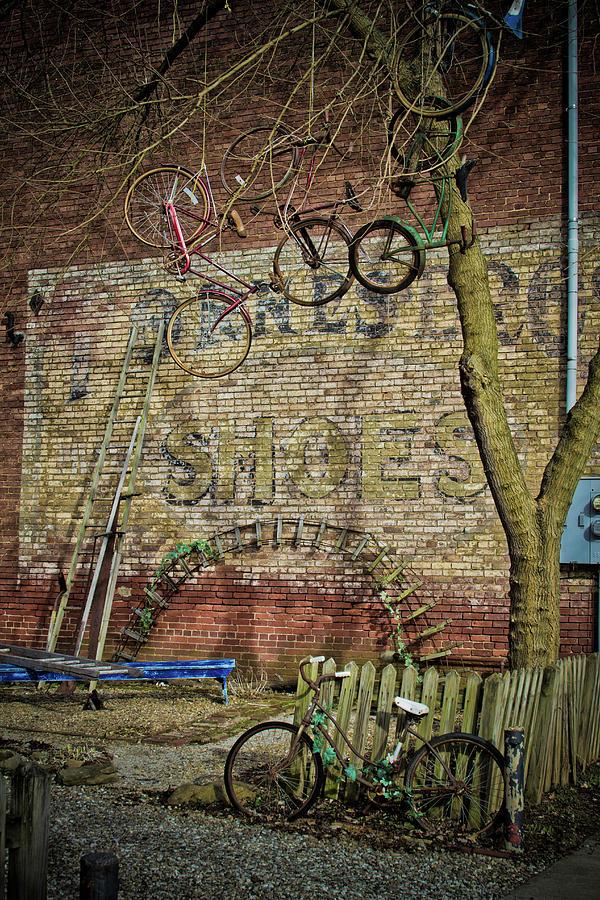 Hanging Bikes by Daniel Houghton