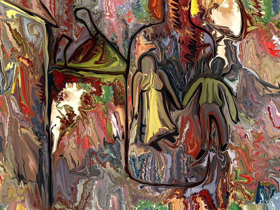 Surrealism Painting - Hangover by Jonathan