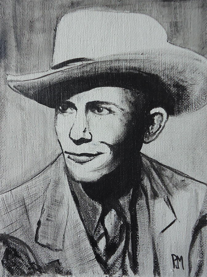 Hank Williams Painting - Hank by Pete Maier